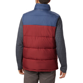Columbia Pike Lake Gilet Homme, red jasper/dark mountain